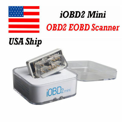iOBD2 Mini OBD2 EOBD Scanner Support Bluetooth 4.0 for iOS Android Ship From USA