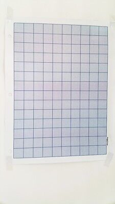 JOMA Graph Paper 2mm Grid Sheets (50Pages) A4 8.5 x 11 blue 1 pt Lines NEW
