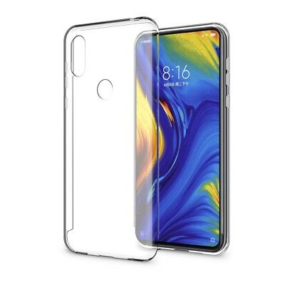 Slim Transparent Crystal Case Clear Soft TPU Silicone Cover For Xiaomi Mi Mix 3