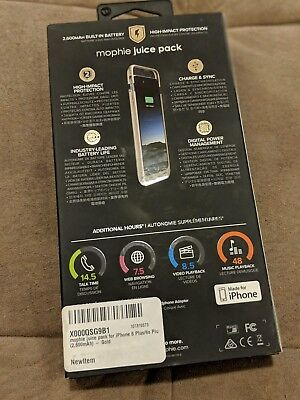 Mophie Juice Pack Battery Case Combo For Apple iphone 6 Plus (2600 Mah) Gold