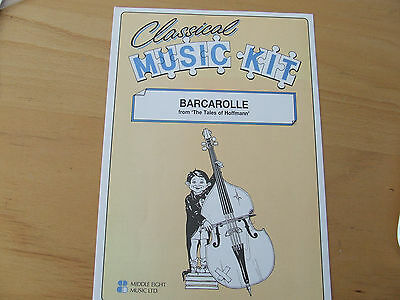 Classical Music Kit Barcarole from `The Tales of Hoffmann` Middle Eight Music
