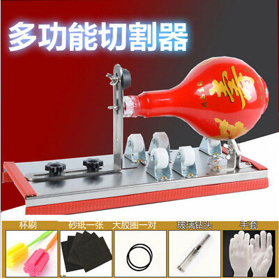 Bottle Cutter Glass Beer Wine Jar Accurate Machine DIY Recycle Cutting Tool Kit