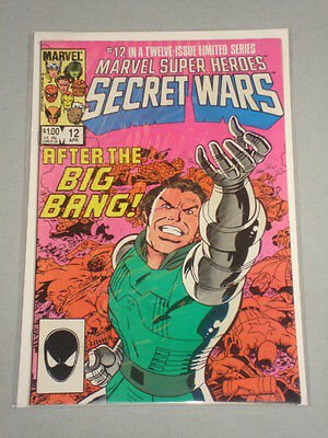 Marvel Super Heroes Secret Wars #12 Vol 1 Marvel April 1985
