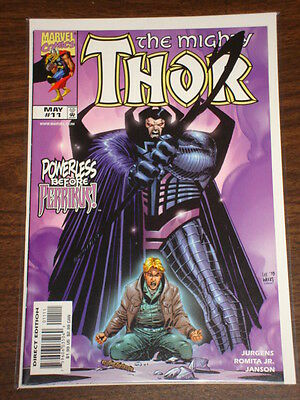 Thor #11 Vol2 The Mighty Marvel Comics May 1999