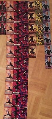 48 AMC Spider-Man Into The Spider-Verse Collector Trading Card Lot 48 Cards!