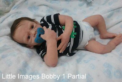 Partial BODY SILICONE  BABY BOY ECOFLEX 20 Bobby 1 Carrie George sculpt breathes