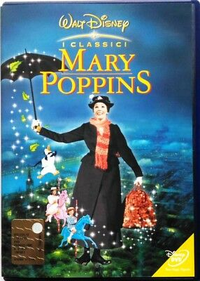 Dvd Mary Poppins - hologram round with Julie Andrews 1964 Used