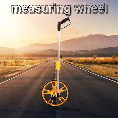 Foldable Measuring Wheel Feet Meter Outdoor Walking Distance Portable with Stand