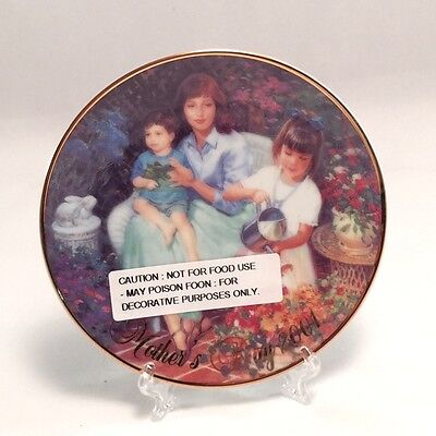 2001 Avon Mothers Day Plate-Caucasian