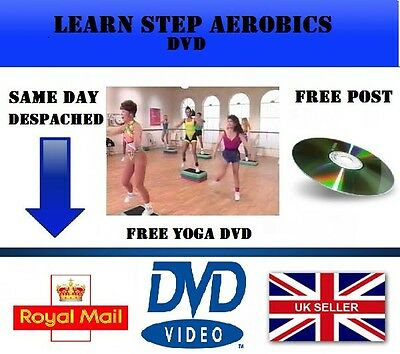 Learn Step Aerobics Exercise Fitness Workout Dvd