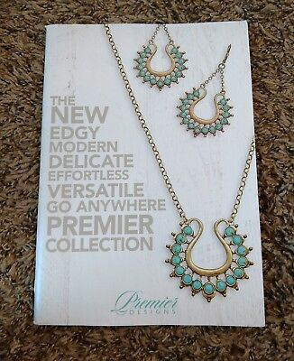 Premier Designs Jewelry 2017-2018 Full Catalog 125 Pages New For Referencing