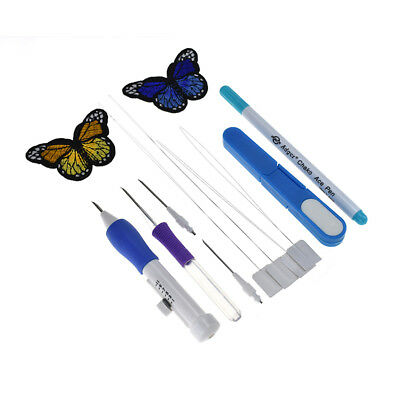 Magic Embroidery Pen Punch Craft Needle Weaving Sewing Tools Clothing Tool Kit