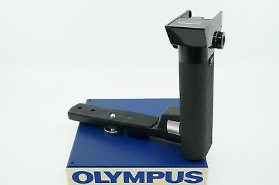 Olympus Om Electronic Flash Power Bounce Grip **technician Cleaned & Checked**