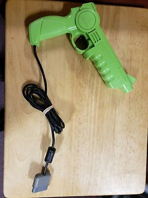 Konami Justifier Sony PlayStation PS1 Light Gun Controller - Tested Works Great!