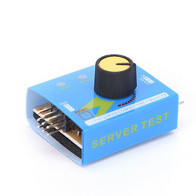 Adjustment Steering Gear Tester CCPM 3-Mode ESC Servo Motor for RC Helicopters #