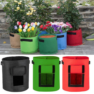 Potato Tomato Planting PE Bag Planter Storage Container Growing for Garden Patio