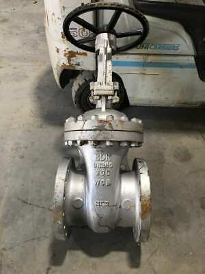 "BDK DN250 10"" WCB Carbon Steel Manual Flanged Gate Valve 300 Class"
