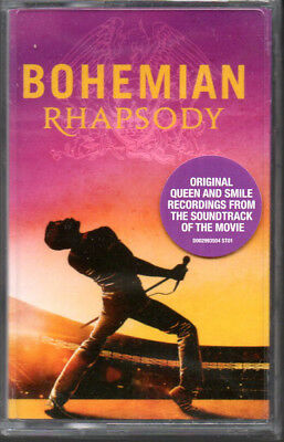 Queen BOHEMIAN RHAPSODY (THE ORIGINAL SOUNDTRACK) New Sealed Clear Cassette Tape
