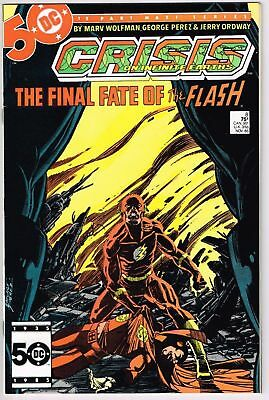 Crisis on Infinite Earths #8 Death of Flash   Barry  Allen