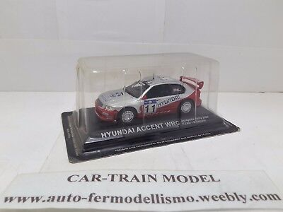 DIE-CAST - Hyundai Accent WRC - Rally Collection - 1:43 1/43 1-43