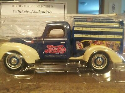 1940 Pepsi Cola Truck collector certificate of authenticity every detail is perf