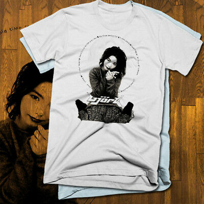 Bjork T-shirt, all sizes, new, indi punk music, Europe, Björk, concert, 2 colors