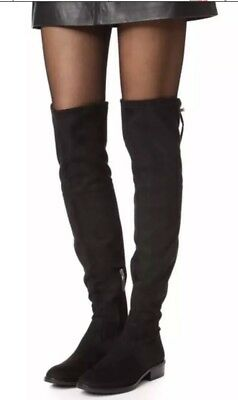 7430461ea063bd NEW Sam Edelman Paloma Black Stretch Microsuede Over the Knee Boot Size US  10