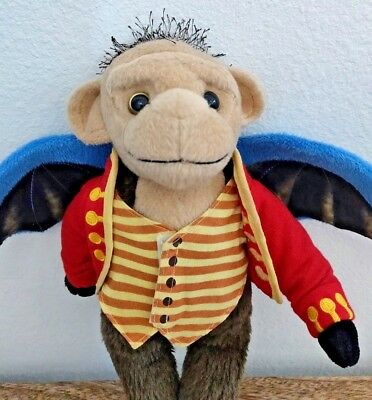 Wicked The Musical Stuffed Flying Monkey Animal Plush Toy Textile