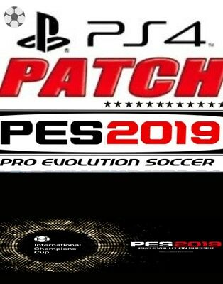 patch pes pro evolution soccer 2019 ps4  juve real madrid loghi aggiornamento