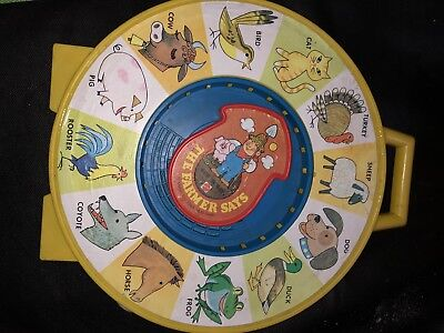 fae6ca9b6a Fisher Price Classic Farmer Says See  n Say Best gift Toy For Kids