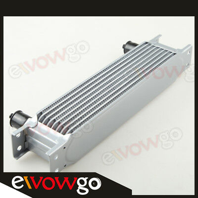 Silver Universal 9 Row An-10An Engine Transmission Racing Oil Cooler Au Stock