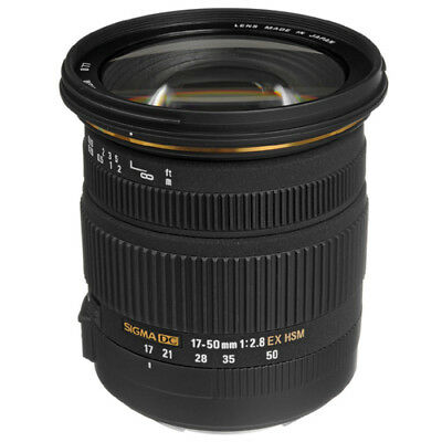 Sigma AF 17-50mm f2.8 EX DC OS HSM For Canon New Brand