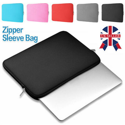 "UK Laptop Sleeve Notebook Case Bag For MacBook Air/Pro 11.6""/13.3""/15.4""/15.6"""