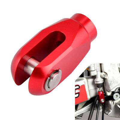 CNC Rear Brake Clevis Red For Honda CRF150R 2007-2019 CRF250R CRF450R 2004-2019