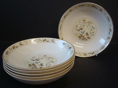 "Royal Doulton Mandalay 6 X Cereal/ Soup / Dessert Bowls 6.75"" 1St Quality"