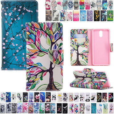 Magnet Flip Leather Wallet Card Slots Case Cover For Nokia 2.1 3.1 5.1 7.1 2018