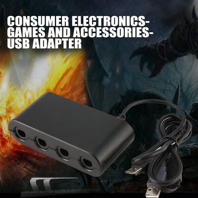 MAYFLASH 4 Ports GameCube Controller Adapter for Switch Wii U & PC USB NK