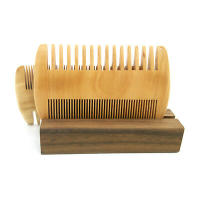Thickened Anti-static Double Sided Hair Beard Comb Brush Hairstyle Care Tool 8C