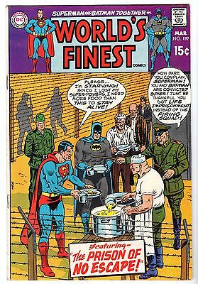 World's Finest #192 with Superman & Batman, Very Fine - Near Mint Condition