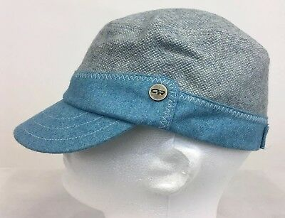 Outdoor Research Gabby Cap Women s Cadet Style Hat One Size Typhoon Blue NWT 34bb430272c