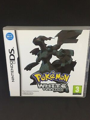 Pokemon White Version Nintendo DS 3DS  Complete