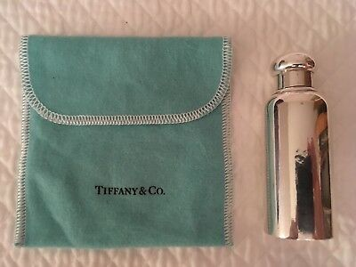 Vintage Tiffany & Co Makers Sterling Silver 925 Pill Trinket Bottle Box