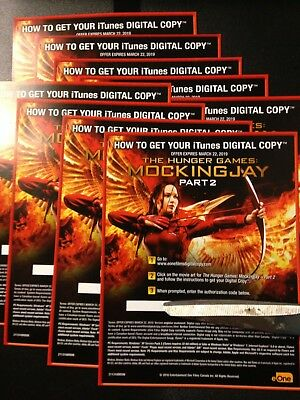 The Hunger Games Mockingjay Part 2 (HD Digital Code Only) Canada only!