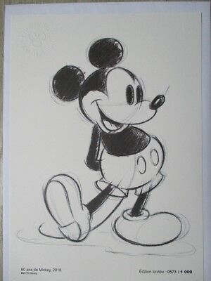 Reproduction Collector Disney MICKEY - N° 573/1000