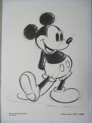 Reproduction Collector Disney MICKEY - N° 574/1000