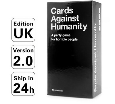 Cards Against Humanity Board Playing Family Birthday Party Uk 2.0 Version Cards