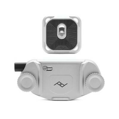 Peak Design CP-S-3 Silver Capture Camera Clip v3 with Plate Arca Swiss T