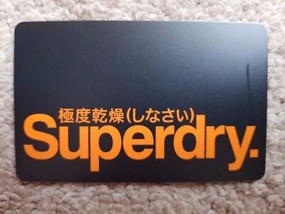 $120 Superdry gift card - get $30 FREE to spend!