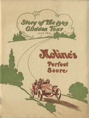 Moline Automobile 1909 Glidden Tour & the Moline's Perfect Score Sales Brochure