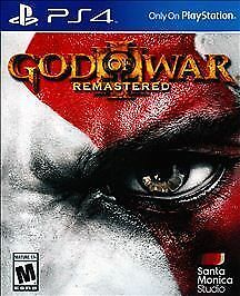 Brand New Sealed God of War 3 III Remastered PS4 Sony PlayStation 4 2015 Game